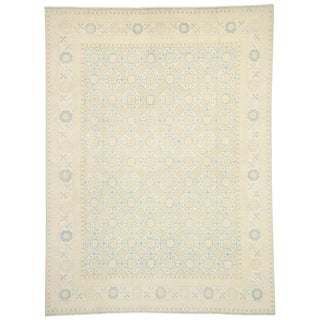 Transitional Khotan Style Area Rug - 10′2″ × 13′7″ For Sale