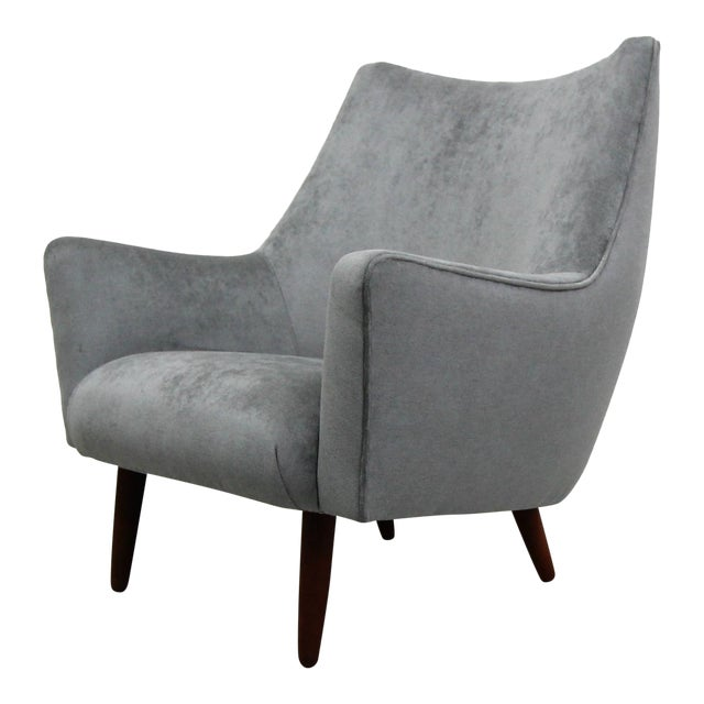 Mid Century Danish Lounge Chair by Hans Olsen For Sale