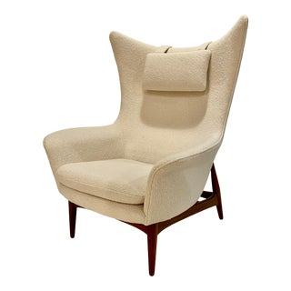 h.w. Klein Wing Chair for Bramin Mobler For Sale