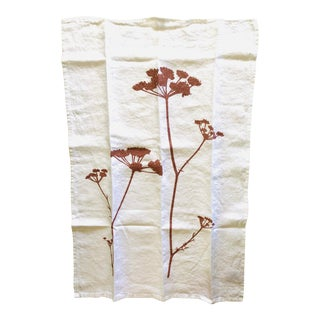 German Linen Kitchen Towel - Queen's Lace For Sale