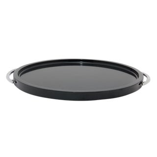 Black Marble Place Tray