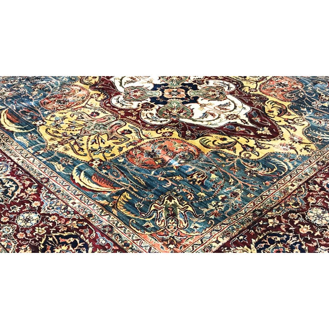 Traditional Traditional Hand Woven Rug 9' X 9'1 For Sale - Image 3 of 4