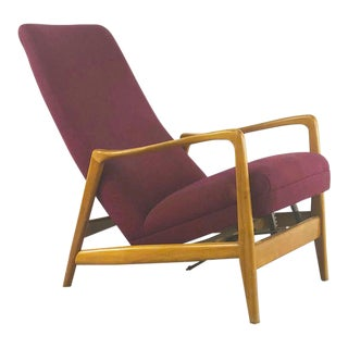 Gio Ponti Armchair Mod 829 for Cassina For Sale