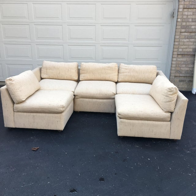 1980s 1980s Vintage Dansen 5pc Sectional Sofa For Sale - Image 5 of 13