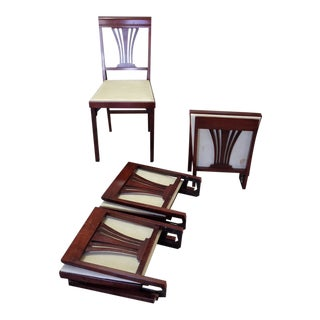Vintage Leg-O-Matic Chairs - Set of 4 For Sale