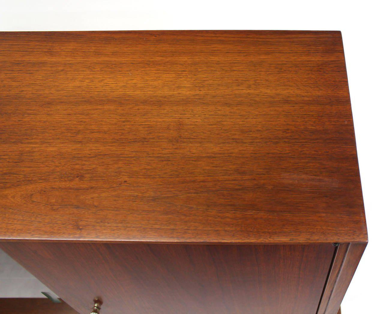 Mid Century Modern Credenza Or Low China Cabinet   Image 7 Of 8