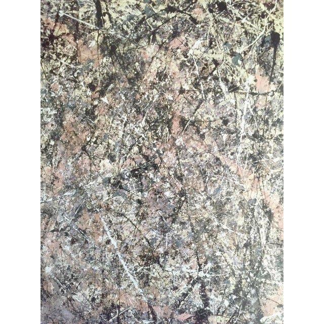 """Jackson Pollock Foundation Abstract Expressionist Collector's Lithograph Print """" Lavender Mist : No. 1 """" 1950 For Sale - Image 9 of 13"""