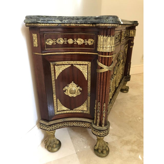 French French Revolution Louis XVI Sideboard For Sale - Image 3 of 12