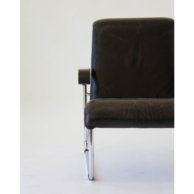 Marcel Breuer for Thonet B35 Leather Lounge Chair - Image 9 of 9