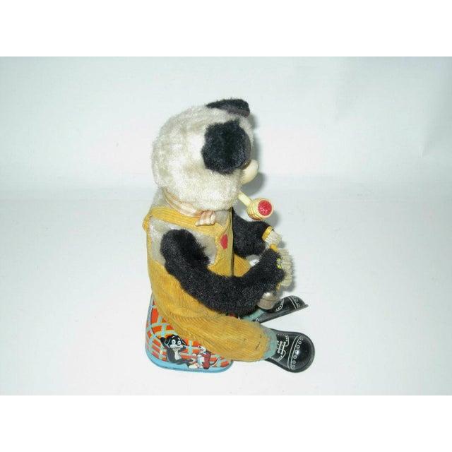 Mid-Century Modern Smoking Panda Toy C.1950s For Sale - Image 3 of 6