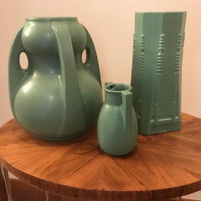 Frank Lloyd Wright Dana Sumac Pottery Vase For Sale - Image 5 of 6