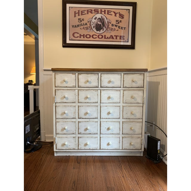 Andover Rustic Pottery Barn Cabinet For Sale In New York - Image 6 of 6