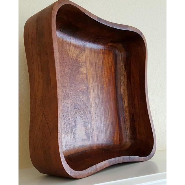 Ernest Sohn Rectangular Siamese Teak Bowl - Image 5 of 11