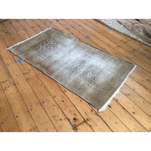 """Distressed Belouch Rug - 3'1"""" x 5'6"""" - Image 3 of 5"""