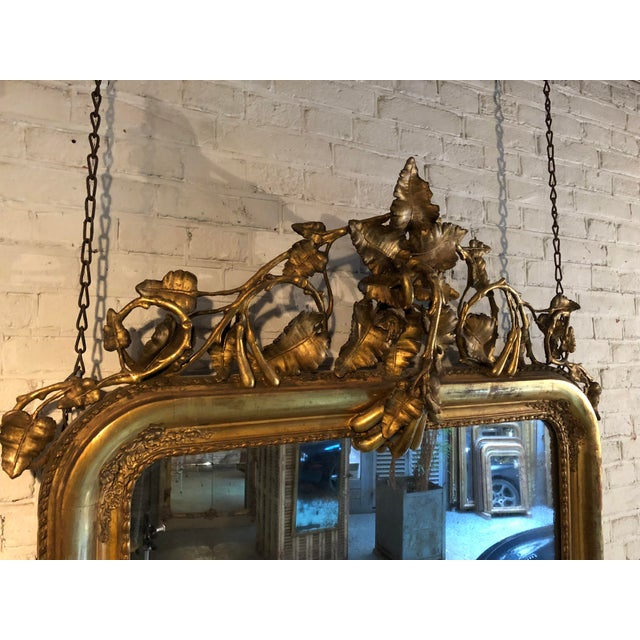 Boho Chic 19th Century Mirror For Sale - Image 3 of 8