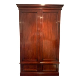 Antique American Classical Armoire For Sale