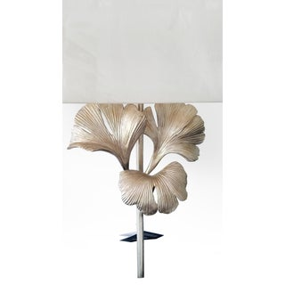 Currey and Co. Gingko Silver Wall Sconce Preview