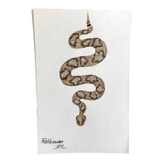 Rattlesnake Original Painting