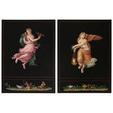 "Image of Engravings after Raphael's ""Hours of Day and Night"" - Set of 2 For Sale"