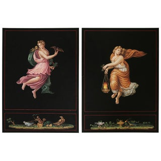 "Engravings after Raphael's ""Hours of Day and Night"" - Set of 2 For Sale"