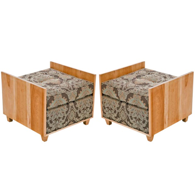 20th Century Modern Benches - a Pair For Sale