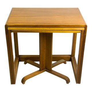 Mid-Century Danish Modern Teak Nesting Tables - Set of 3