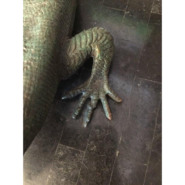 Maitland-Smith Bronze Lizard Tessellated Box For Sale In Philadelphia - Image 6 of 7