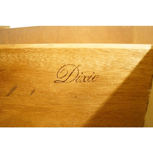 Wood 20th Century Italian Dixie Furniture Door Chest on Chest For Sale - Image 7 of 13