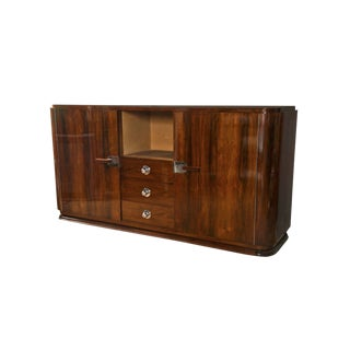 20th Century Art Deco Rosewood Cabinet For Sale