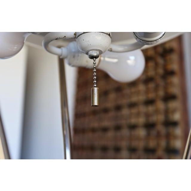 "t.h. Robsjohn Gibbings ""Tripod"" Floor Lamps - a Pair For Sale - Image 10 of 13"