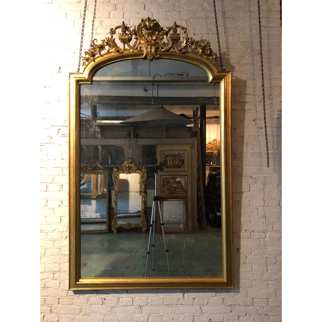 Traditional 19th Century Mirror For Sale - Image 3 of 6