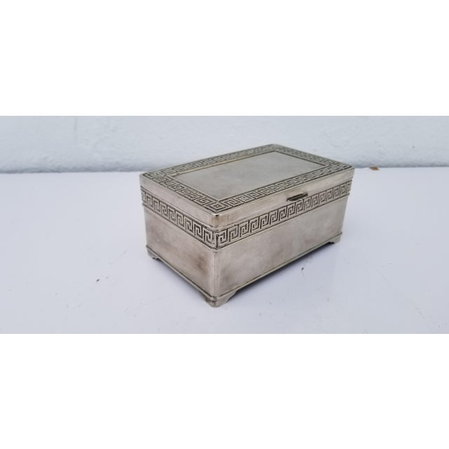 Vintage silver plated VERA LUCINO decorative box made in Italy, great collectible. A place to keep jewelry keys valet for...