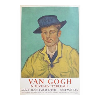 1960 Van Gogh Exhibiton Poster, Portrait of Armand Roulin
