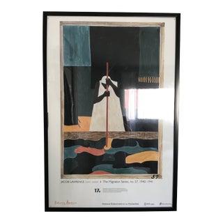 Jacob Lawrence Framed Poster For Sale