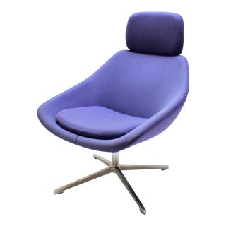 Contemporary Fiorentino Swivel Lounge Chair by Allermuir For Sale