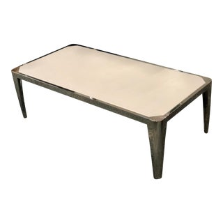 Resource Decor White Cocktail Table For Sale