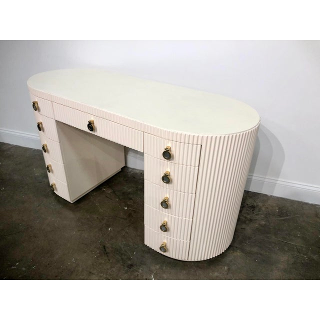 Mid-Century Modern Lillian August for Hickory White Vanity For Sale - Image 3 of 9