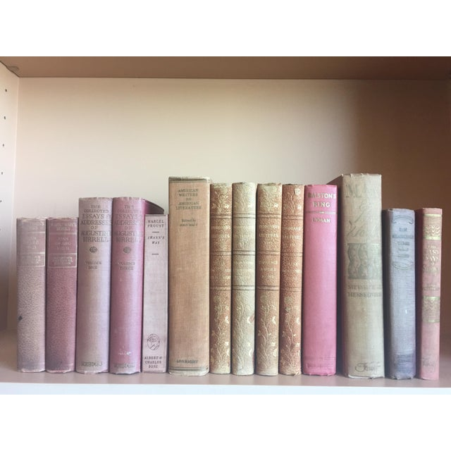 Antique Pastel Books - Set of 14 - Image 6 of 6