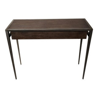 Industrial Woodbridge Furniture Aries Console For Sale