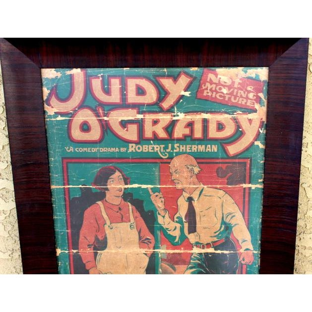 Judy O'Grady Playbill Sign For Sale - Image 4 of 5