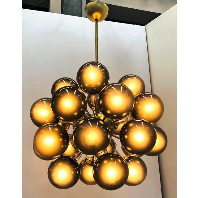 Fabio Ltd Ventiquattro Sputnik Chandelier by Fabio Ltd For Sale - Image 4 of 12
