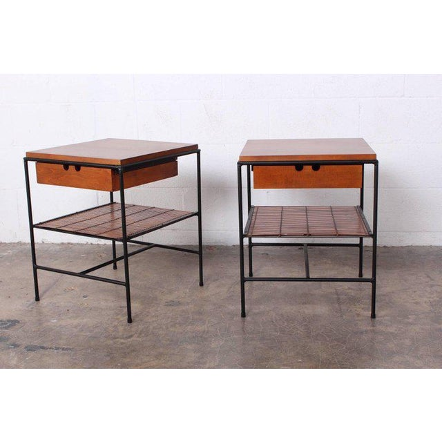 1950s Pair of Nightstands by Paul McCobb For Sale - Image 5 of 10