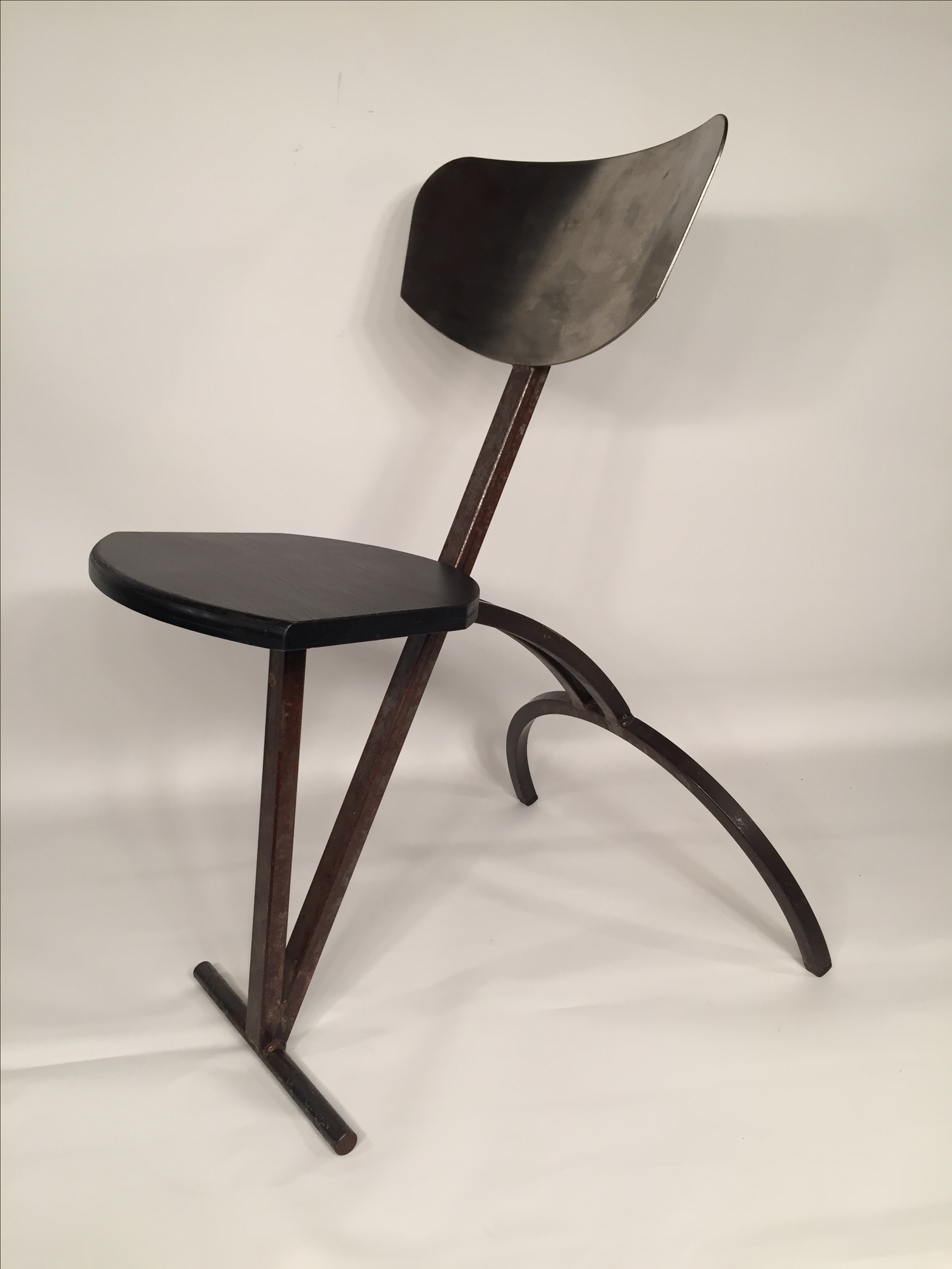 French French Handmade Industrial Modern Chairs   S/6 For Sale   Image 3 Of