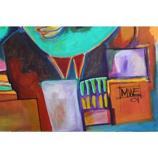 Abstract Musical Figurative Abstract For Sale - Image 3 of 4