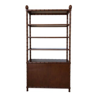 Etagere With Cabinet For Sale
