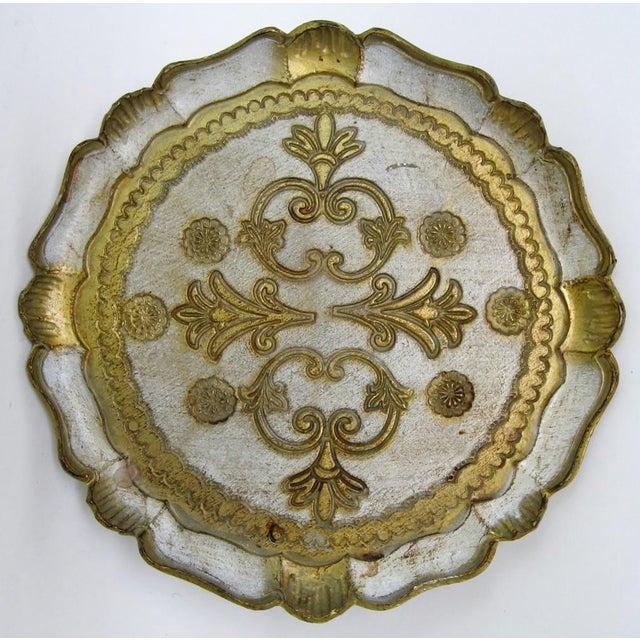 Florentine Wood Tray - Image 4 of 6