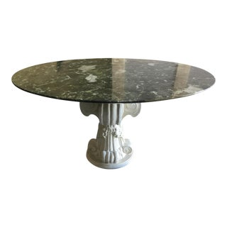 Roche-Bobois Marble Dining Table For Sale