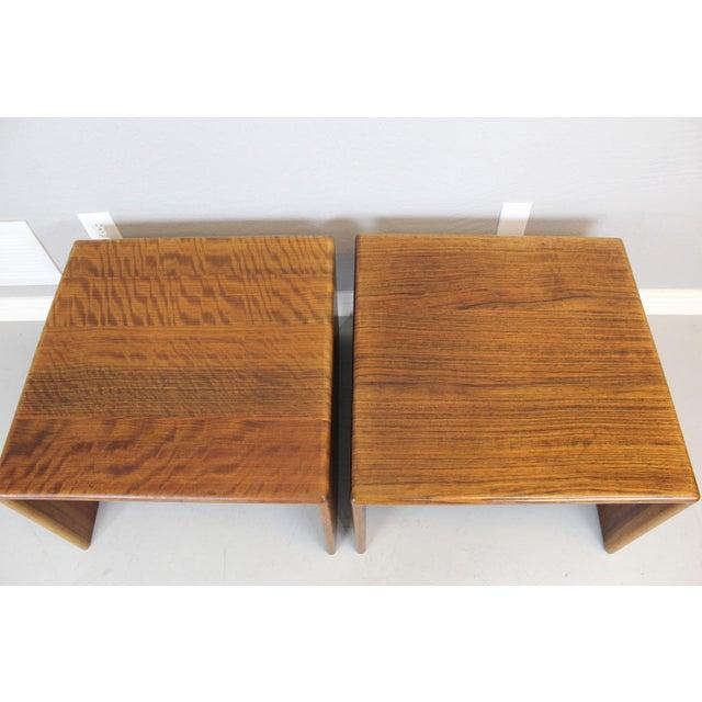 """Gerald McCabe Sedua"""" C"""" Tables - A Pair - Image 4 of 6"""