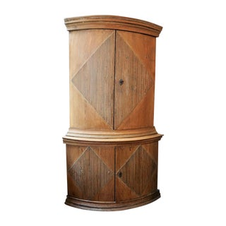 19th Century Swedish Corner Cabinet For Sale