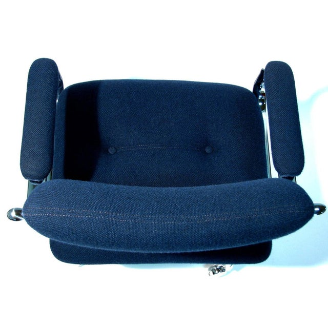 Chromcraft Rolling Swivel Armchairs - A Pair - Image 6 of 9
